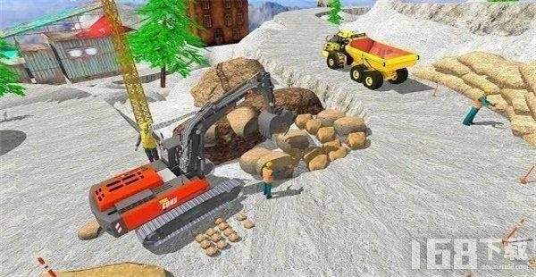 翻土:推土机模拟器
