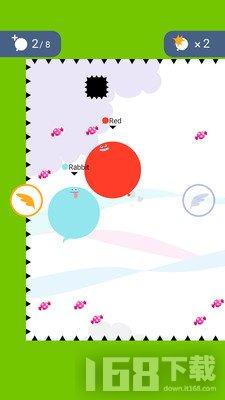 气球碰撞io