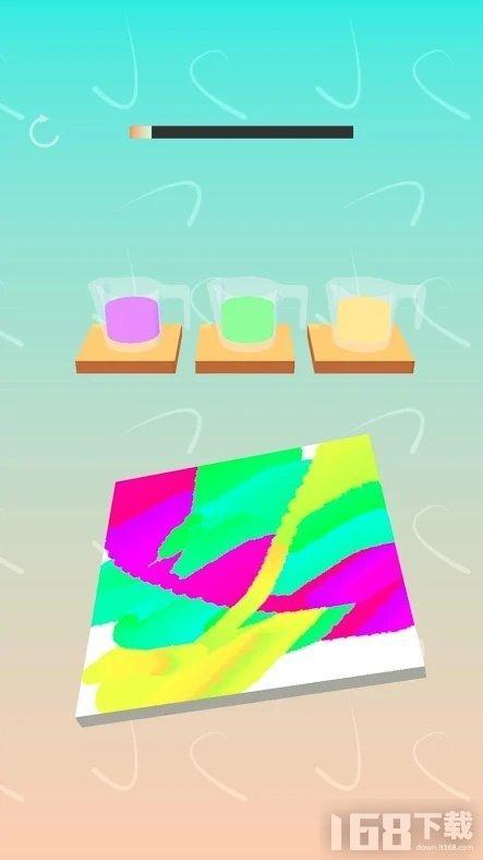 我抽象画的贼6