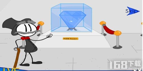 偷钻石失败的愚蠢方式