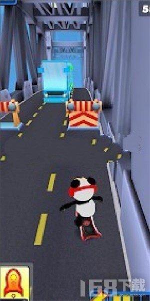 熊猫跑步终结者