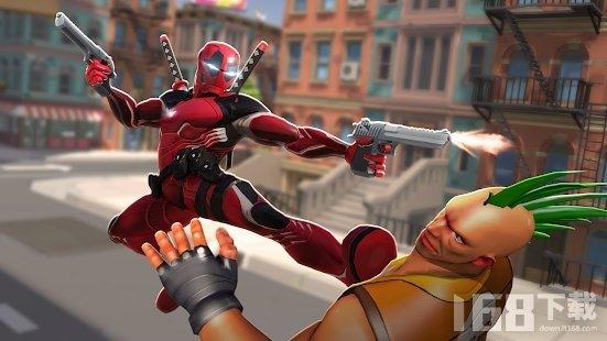 钢铁英雄超级英雄战斗