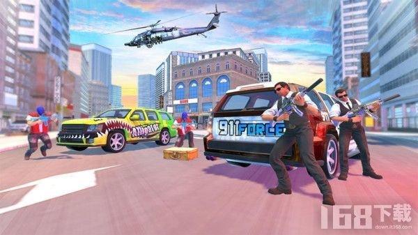 银行抢劫模拟