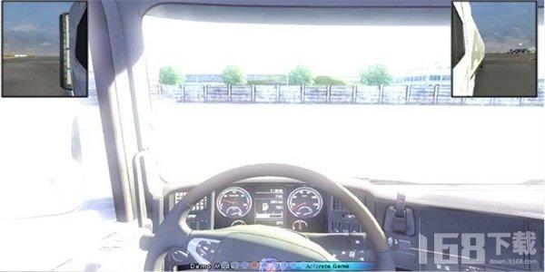斯堪尼亚重卡驾驶模拟