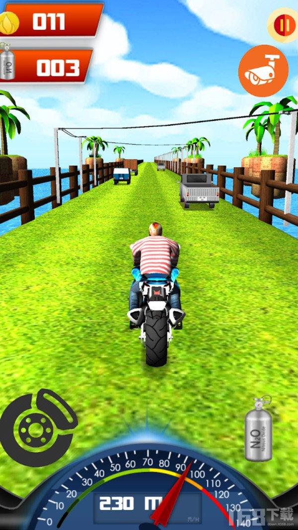 超强的摩托赛车