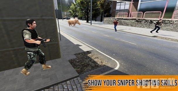 动物攻击幸存者狙击手