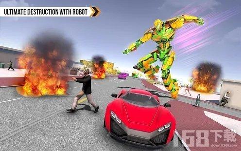 自动人力车机器人汽车改造