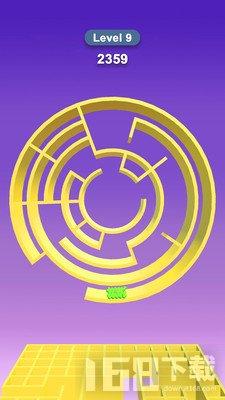 滚球迷宫3D