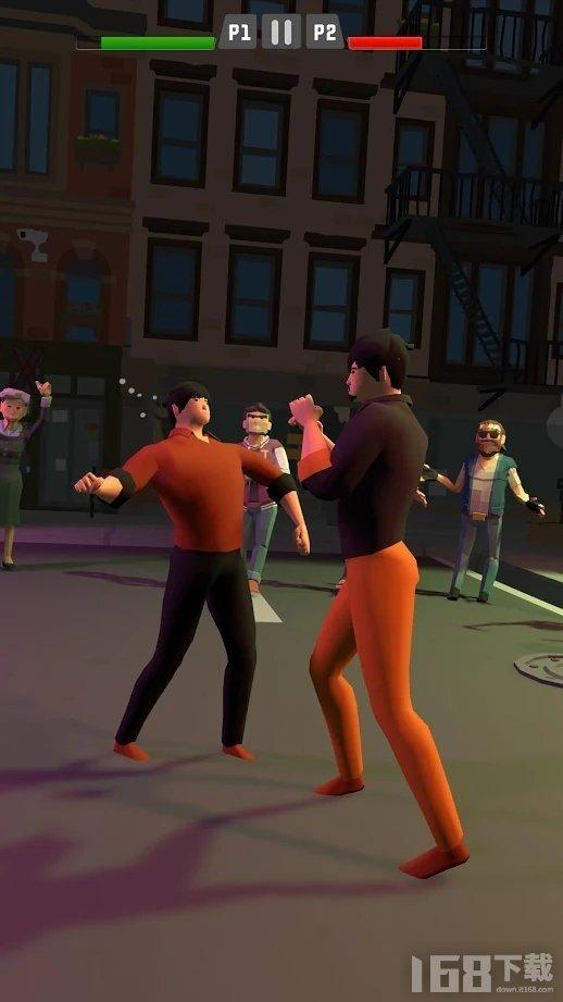 拳击街头打架俱乐部