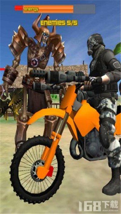 摩托海滩战士3D