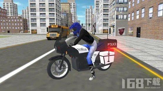 警用摩托车模拟器