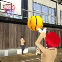 高校女孩篮球队