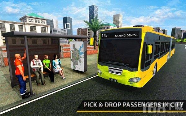 现代城市公交车驾驶模拟器