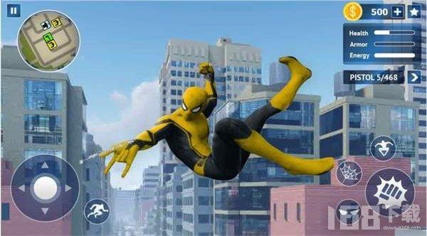 飞行蜘蛛绳英雄
