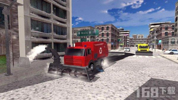 扫雪车模拟器