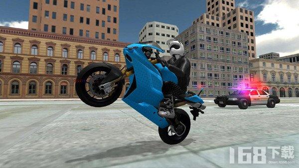 特技摩托模拟