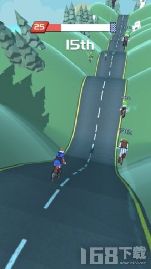 自行车山丘破解版