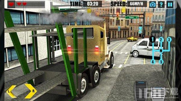 手动卡车模拟