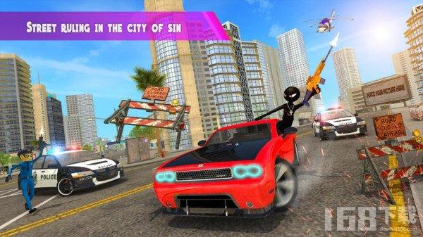 城市火柴人犯罪模拟