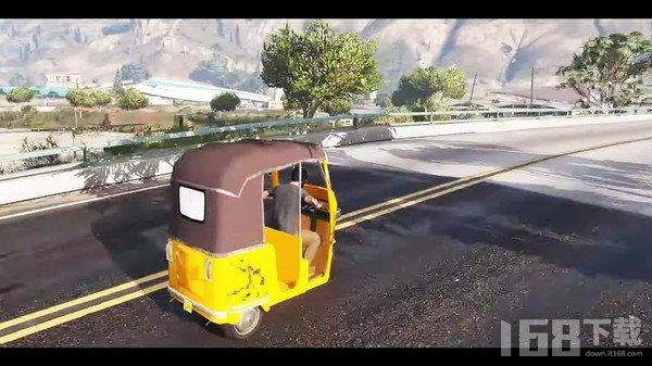 现代三轮车司机3D