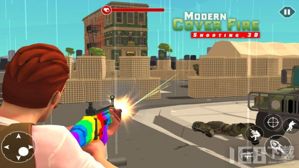 现代火力射击