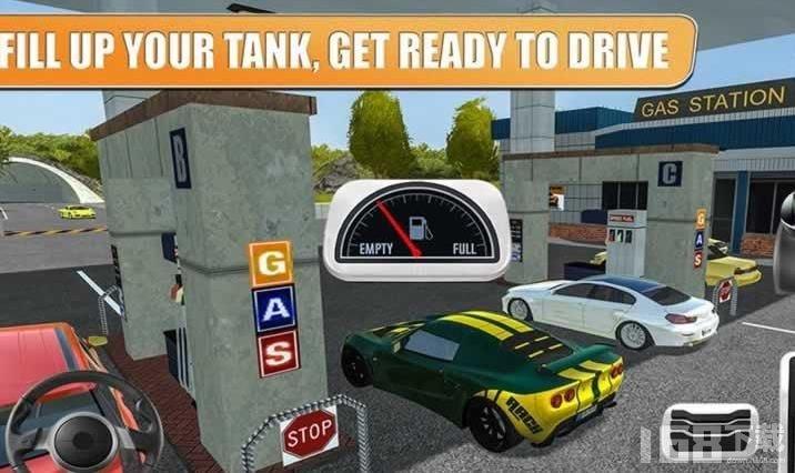 加油站高速服务