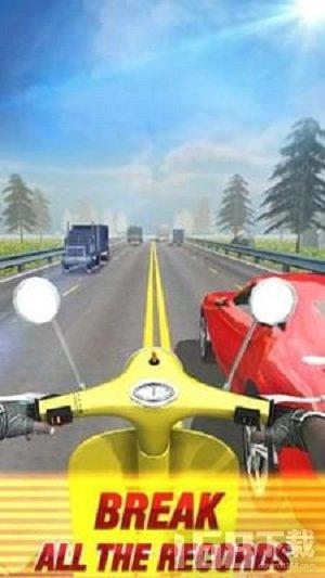 摩托车直线竟速