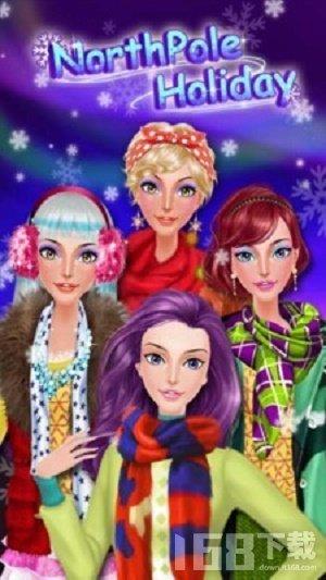 时尚冬季女孩