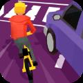 疯狂的自行车骑士