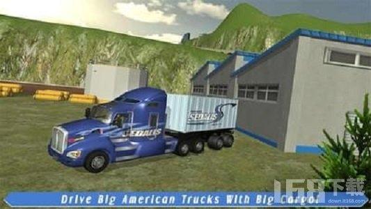货运卡车司机美国运输
