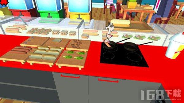 烹饪餐厅素食厨房