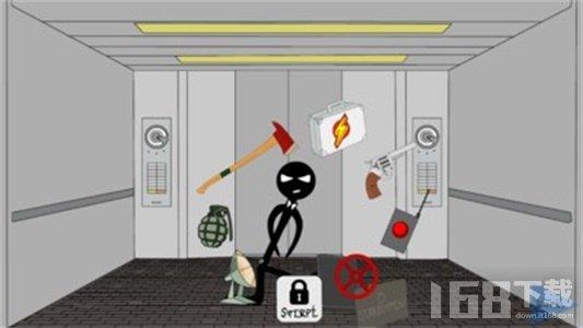 火柴人逃脱电梯2
