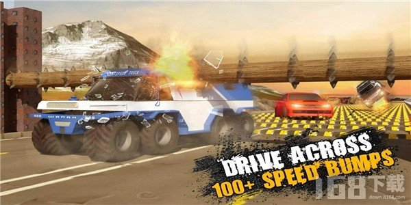 减速带汽车碰撞测试