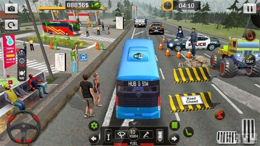 印度尼西亚公交车模拟器