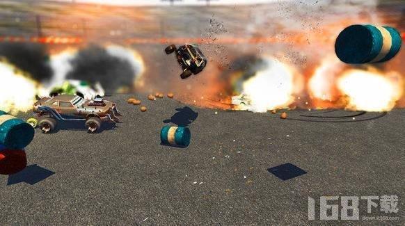 模拟真正的车祸