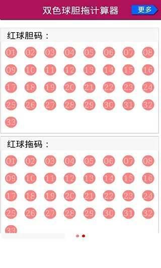 双色球精选一注6十1机选