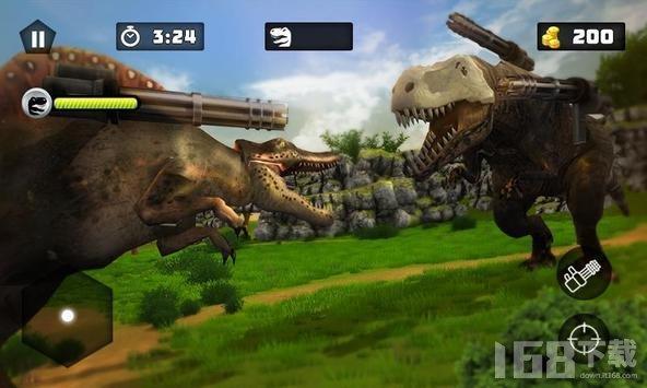 恐龙战争射击生存