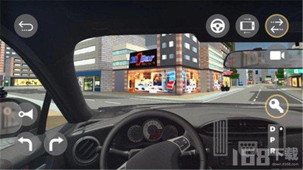 驾驶汽车3D模拟器