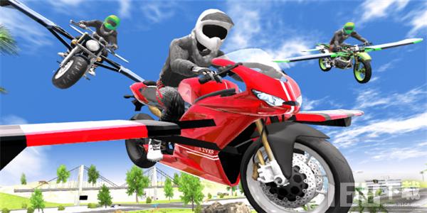 摩托飞车模拟器