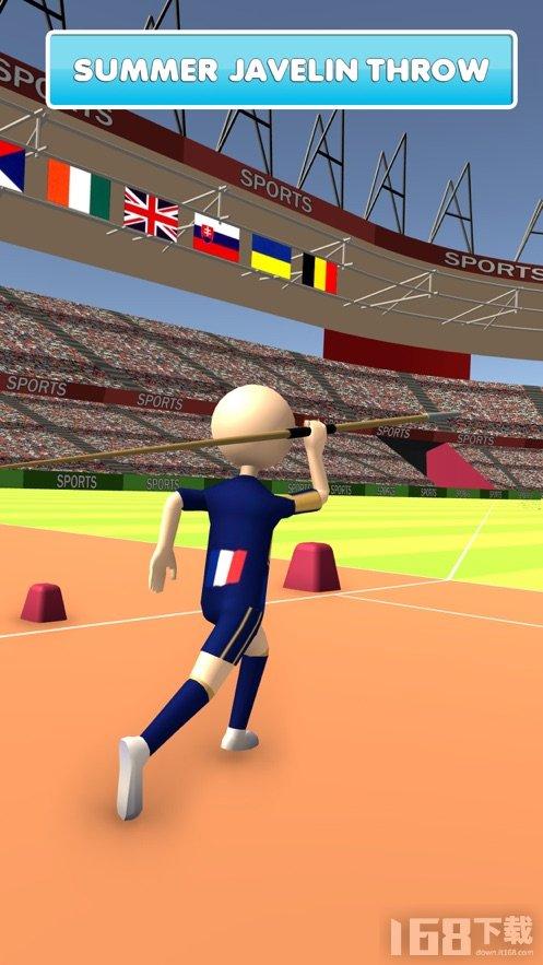 夏季田径赛事3D