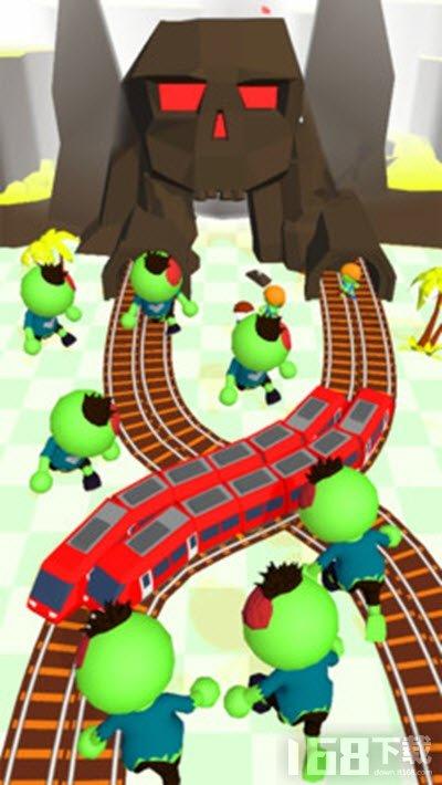 火车大战僵尸游戏