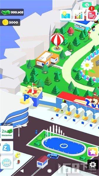 空闲动物园岛