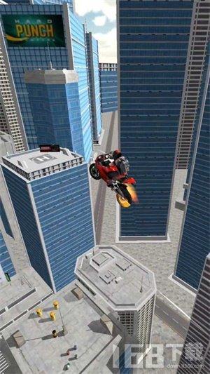 摩托车特技飞跃