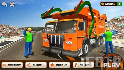垃圾车驾驶模拟器2020