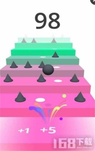 小球爬楼梯