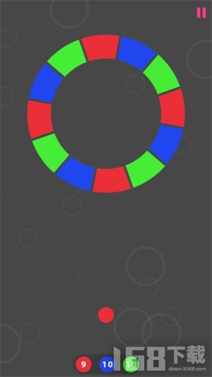 色彩小球转盘