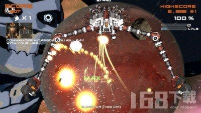 机械机器人太空射手