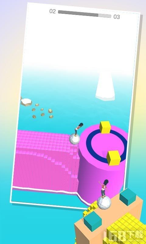 模拟滚球大作战3D