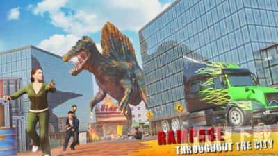 城市愤怒恐龙