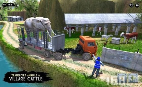 动物运输卡车驾驶模拟器
